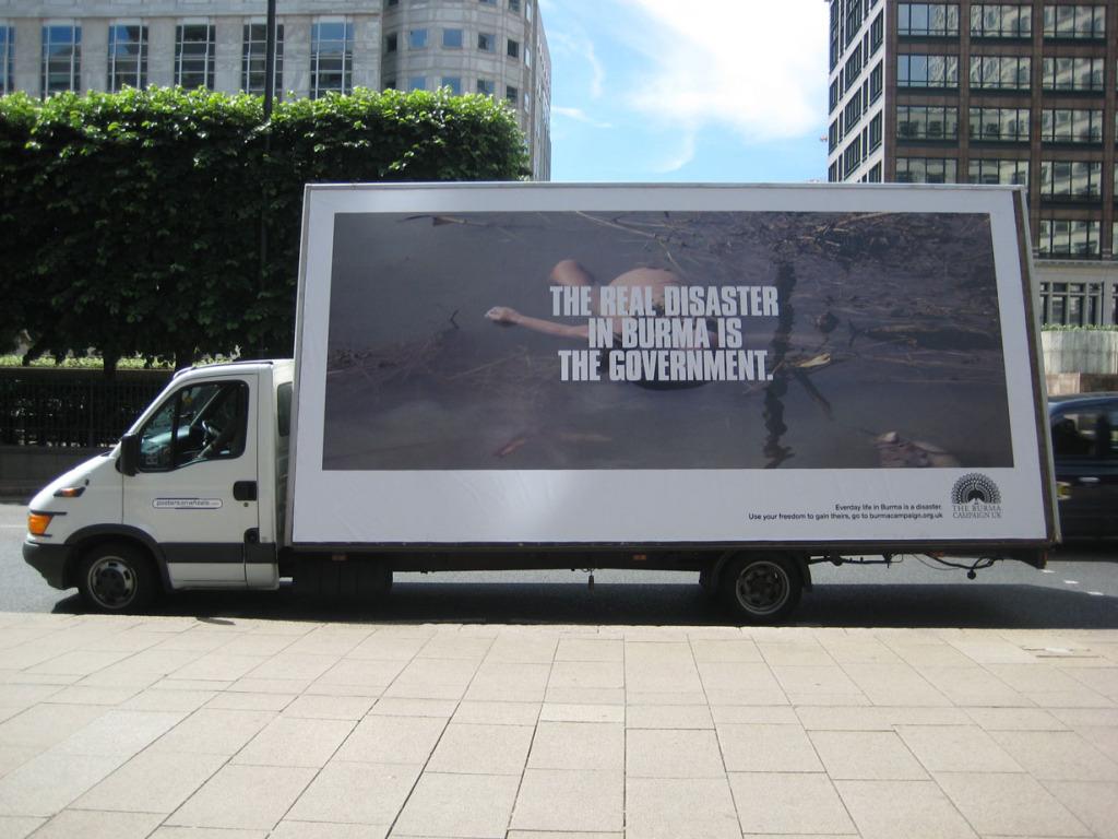 Real Disaster ad van