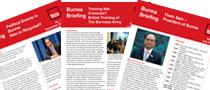 Burma Briefing – Resources