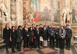 Delegation at UK Parliament