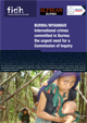 International crimes committed in Burma: the urgent need for a Commission of Inquiry