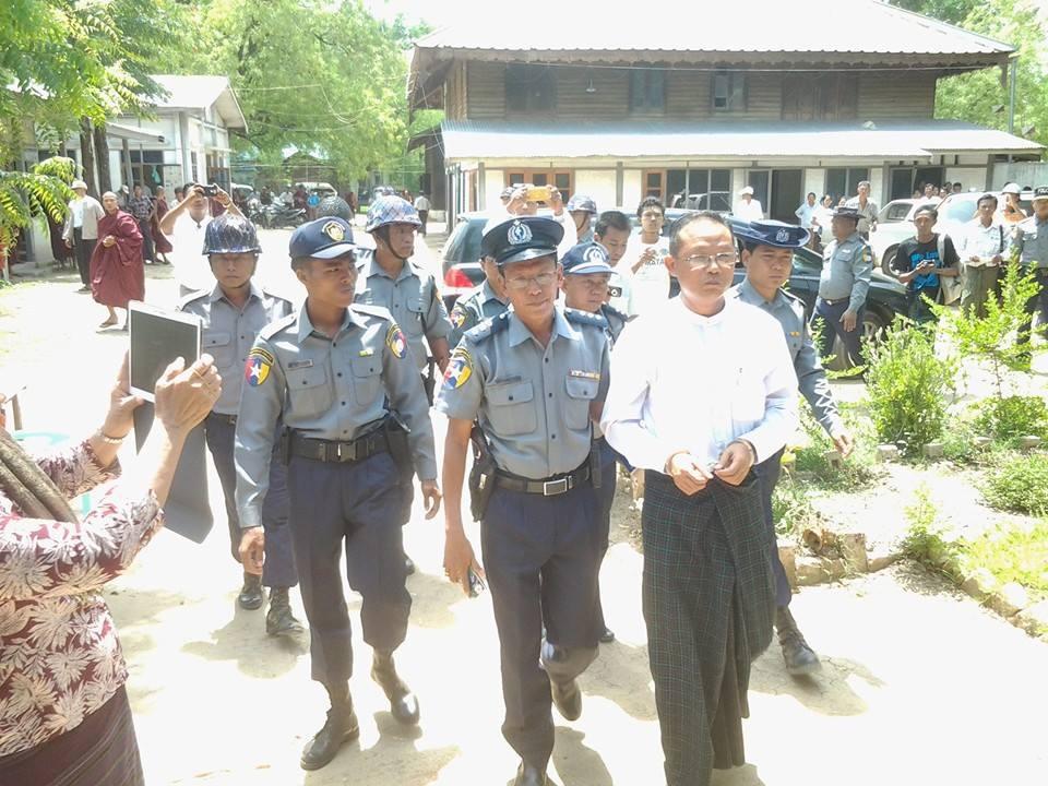 Htin Lin Oo sentenced 2 June 2015