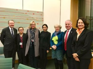 Karen delegation with UK parliamentarians