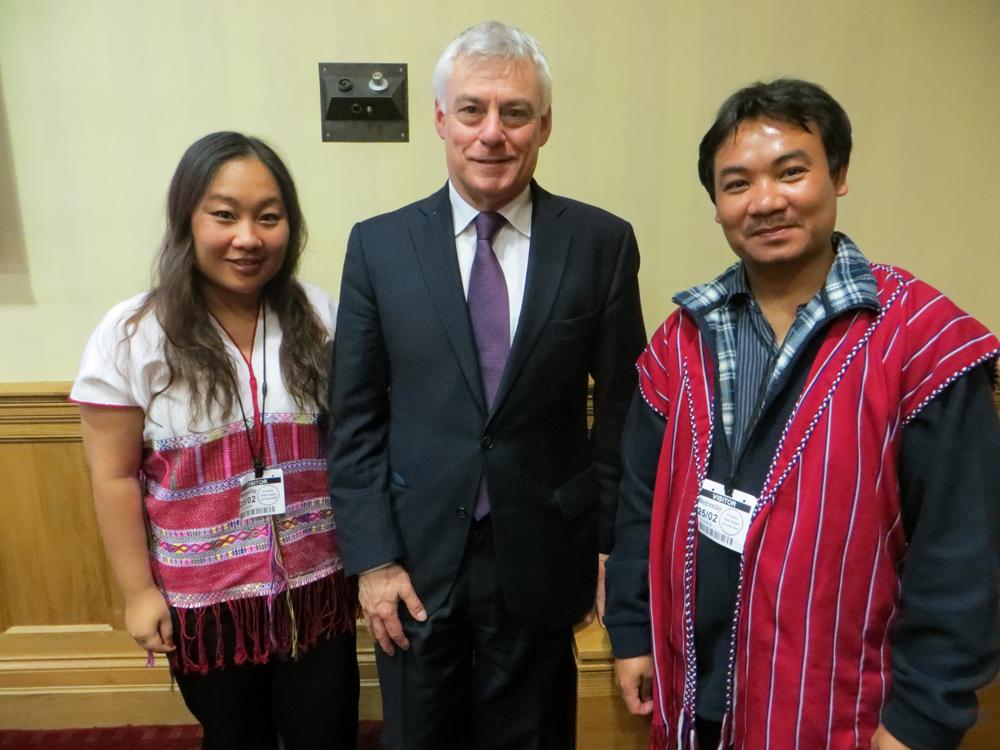Luiz-Kaypoe_David-Ward-MP-and-Naw-Ta-Mla-Saw-in-the-British-Parliament-25-Feb-2015