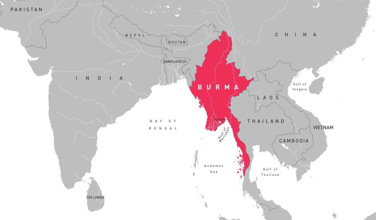 Maps Burma Campaign UK