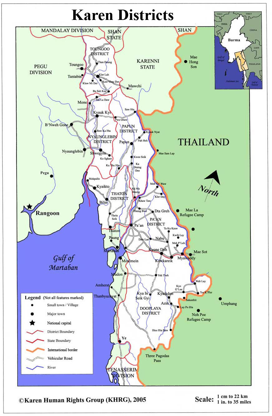 Maps Burma Campaign UK - Burma map download