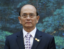 Myanmar President Thein Sein Visits China