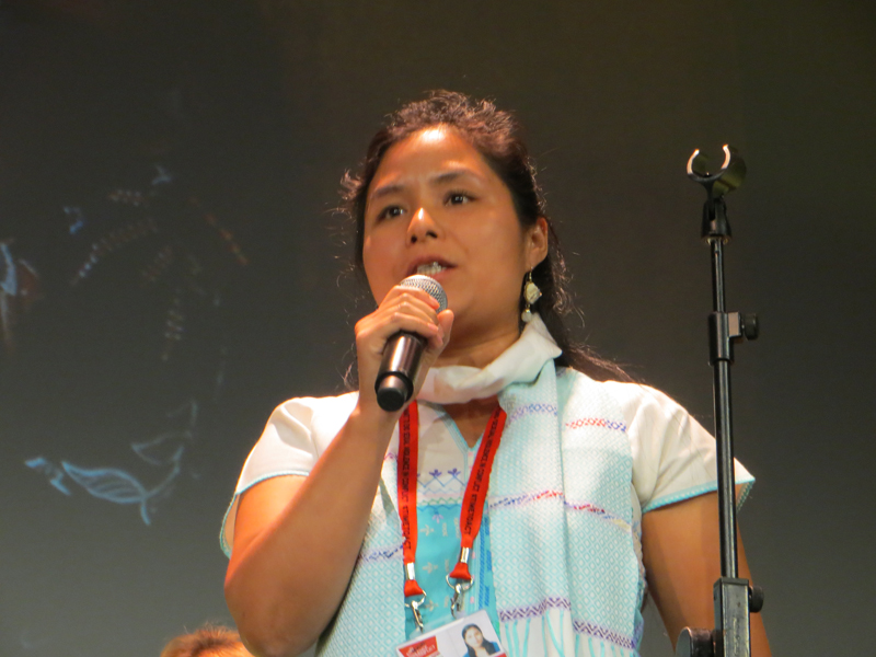 Tin Tin Nyo at Global summit to end sexual violence in conflict2