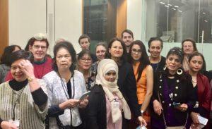 Wai Hnin at Parliament event Mar 2017