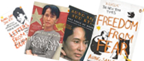New 2012 Aung San Suu Kyi's Books