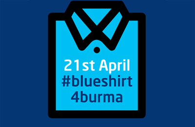 Blue Shirt Day