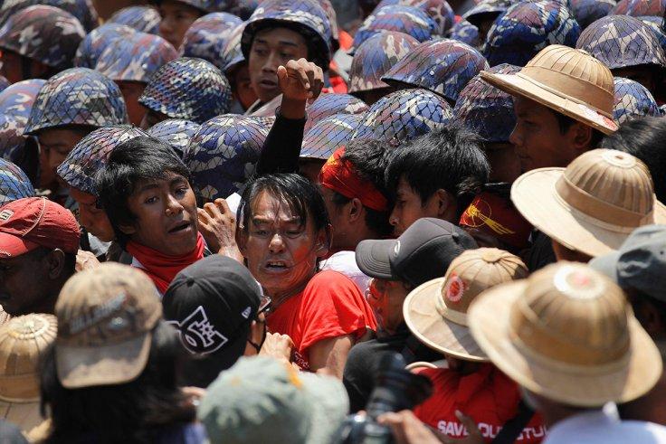 myanmar-student-protest