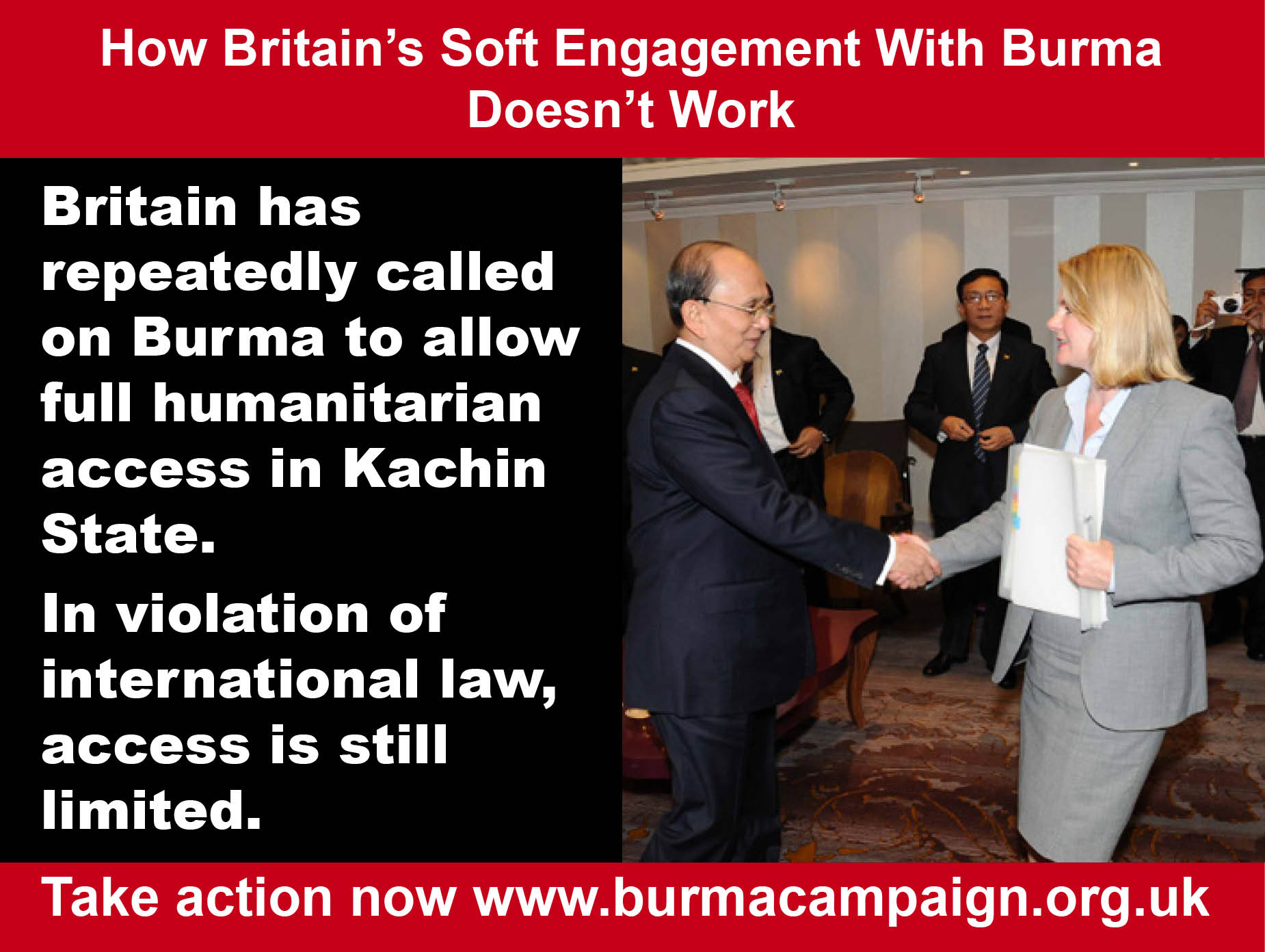 soft engagement doesn't work kachin aid burma campaign UK