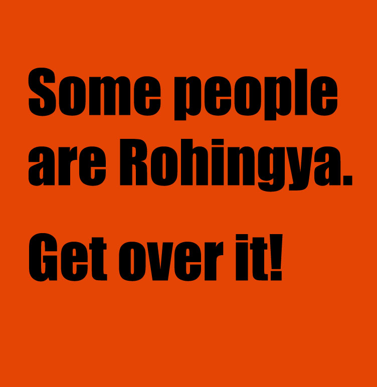 some people are Rohingya