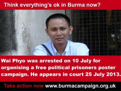 think_everything_ok_burma_wai_phyo_arrested_burma_campaign_UK_thumb
